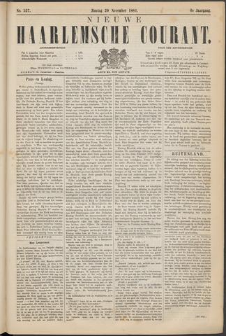 Nieuwe Haarlemsche Courant 1881-11-20