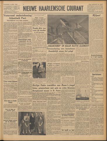 Nieuwe Haarlemsche Courant 1949-04-04
