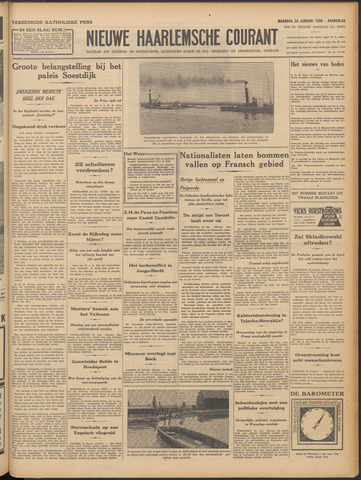 Nieuwe Haarlemsche Courant 1938-01-24