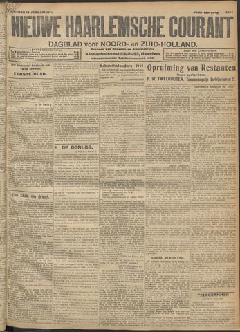 Nieuwe Haarlemsche Courant 1915-01-12