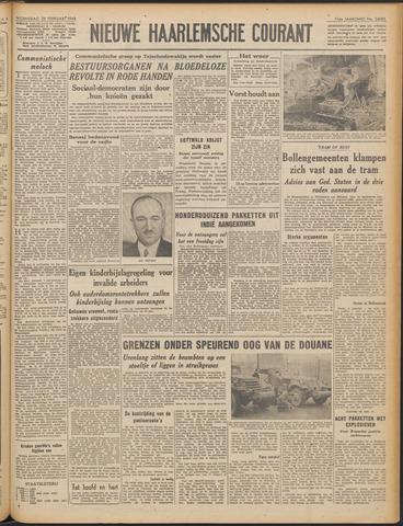 Nieuwe Haarlemsche Courant 1948-02-25