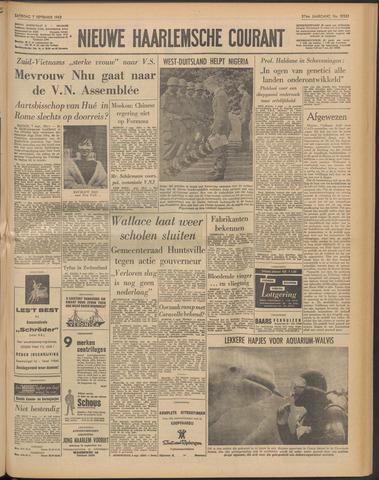 Nieuwe Haarlemsche Courant 1963-09-07