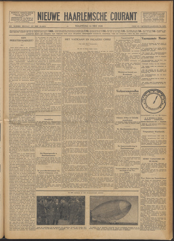 Nieuwe Haarlemsche Courant 1928-05-14