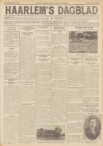 Haarlem's Dagblad 1926-07-30