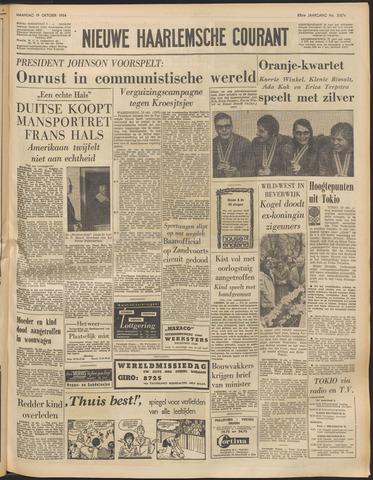 Nieuwe Haarlemsche Courant 1964-10-19