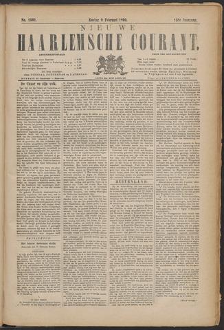 Nieuwe Haarlemsche Courant 1890-02-09