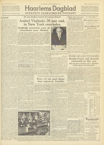 Haarlem's Dagblad 1954-11-23