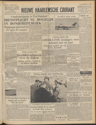 Nieuwe Haarlemsche Courant 1954-02-27