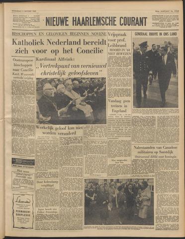 Nieuwe Haarlemsche Courant 1962-10-03