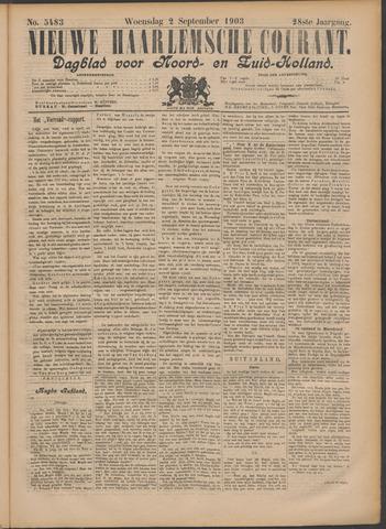 Nieuwe Haarlemsche Courant 1903-09-02