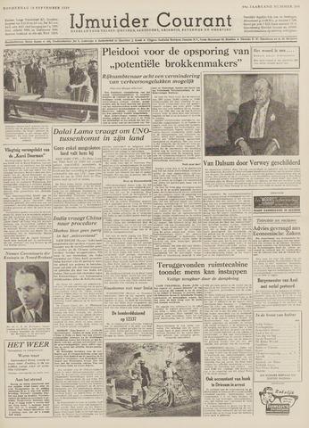 IJmuider Courant 1959-09-10