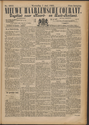 Nieuwe Haarlemsche Courant 1905-06-07