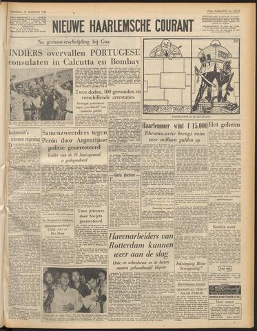 Nieuwe Haarlemsche Courant 1955-08-17