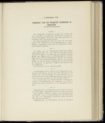 Raadsnotulen Heemstede 1913-09-02
