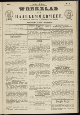 Weekblad van Haarlemmermeer 1881-03-04