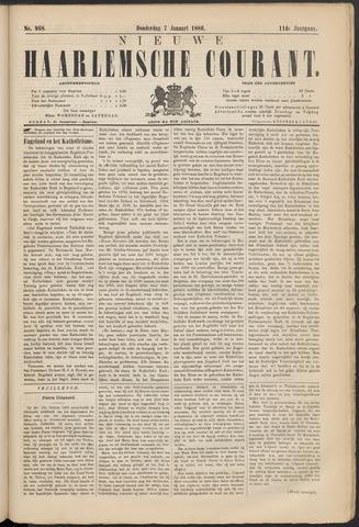 Nieuwe Haarlemsche Courant 1886-01-07