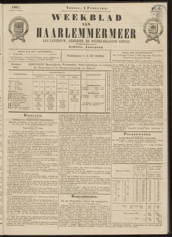 Weekblad van Haarlemmermeer 1867-02-01