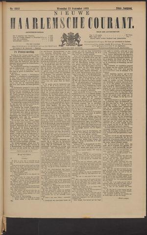 Nieuwe Haarlemsche Courant 1895-09-25