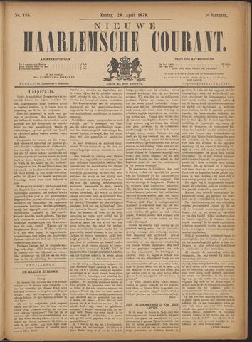 Nieuwe Haarlemsche Courant 1878-04-28