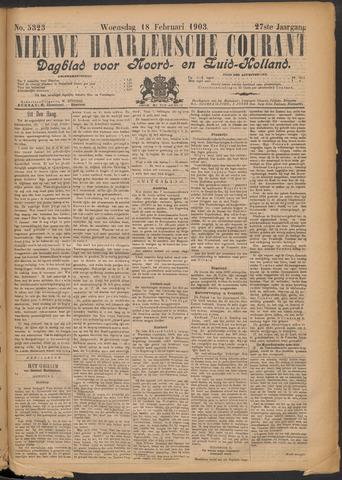 Nieuwe Haarlemsche Courant 1903-02-18