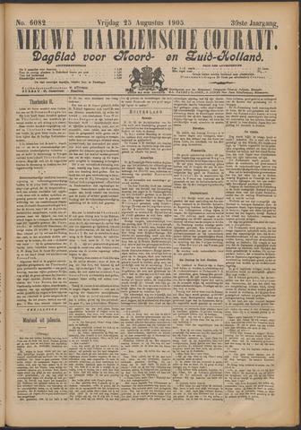 Nieuwe Haarlemsche Courant 1905-08-25