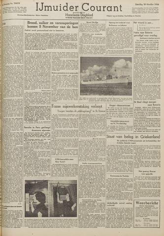 IJmuider Courant 1948-10-30