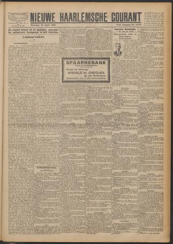 Nieuwe Haarlemsche Courant 1924-04-12