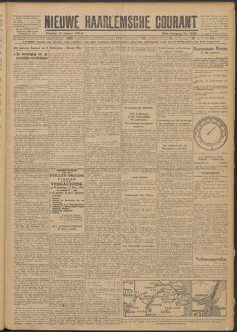 Nieuwe Haarlemsche Courant 1927-01-11