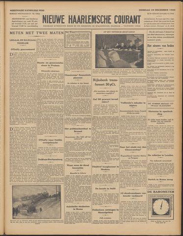 Nieuwe Haarlemsche Courant 1933-12-19