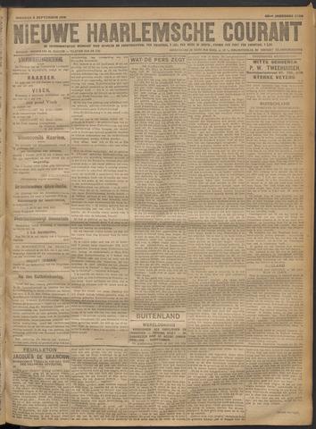 Nieuwe Haarlemsche Courant 1918-09-03