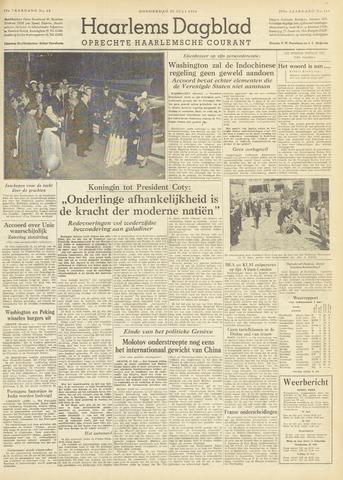 Haarlem's Dagblad 1954-07-22