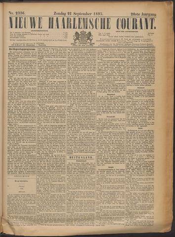 Nieuwe Haarlemsche Courant 1895-09-22