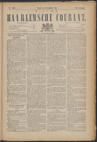 Nieuwe Haarlemsche Courant 1890-02-19