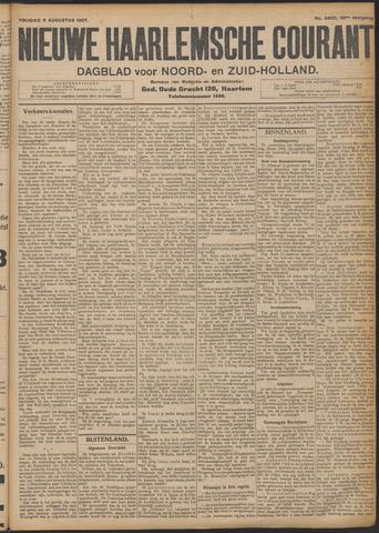 Nieuwe Haarlemsche Courant 1907-08-09