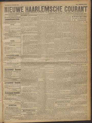 Nieuwe Haarlemsche Courant 1919-02-18