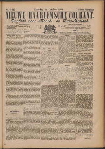 Nieuwe Haarlemsche Courant 1904-10-22