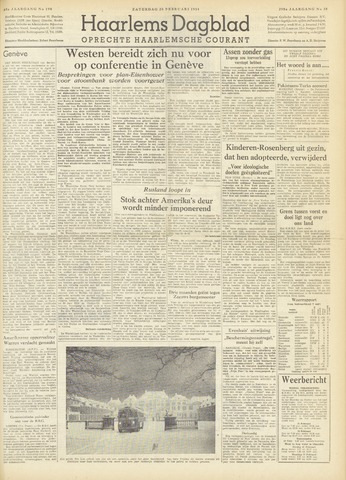 Haarlem's Dagblad 1954-02-20