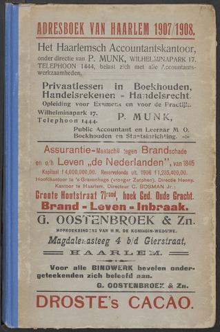 Adresboeken Haarlem 1907-09-01