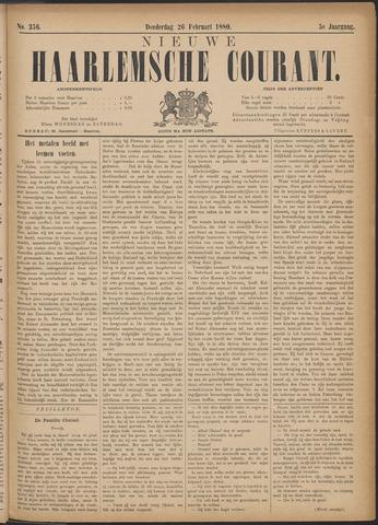 Nieuwe Haarlemsche Courant 1880-02-26