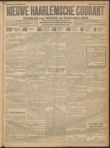 Nieuwe Haarlemsche Courant 1914-02-09