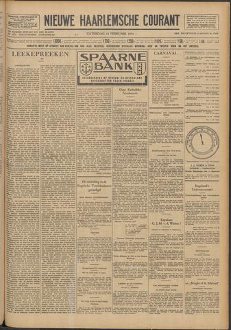 Nieuwe Haarlemsche Courant 1931-02-14