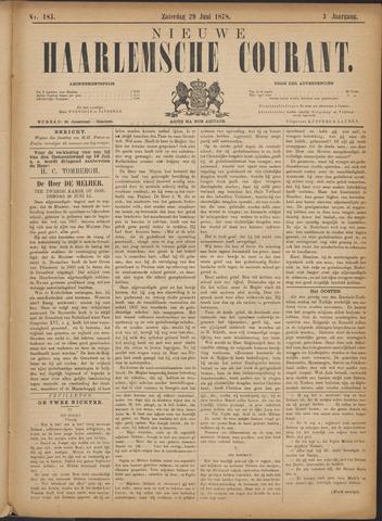 Nieuwe Haarlemsche Courant 1878-06-29