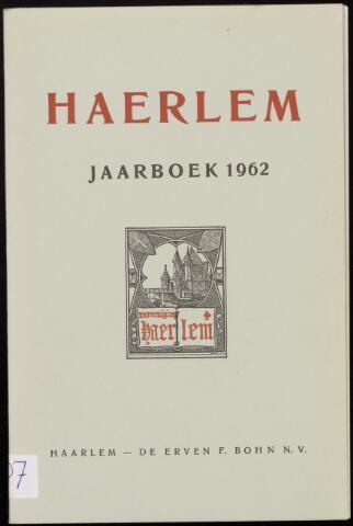 Jaarverslagen en Jaarboeken Vereniging Haerlem 1962