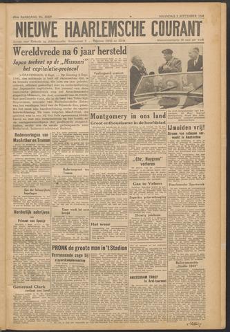 Nieuwe Haarlemsche Courant 1945-09-03