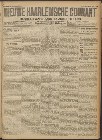 Nieuwe Haarlemsche Courant 1914-09-18
