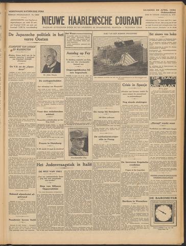 Nieuwe Haarlemsche Courant 1934-04-24