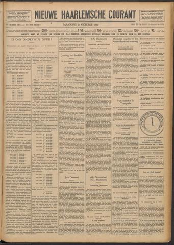 Nieuwe Haarlemsche Courant 1930-10-20