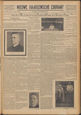 Nieuwe Haarlemsche Courant 1931-08-28