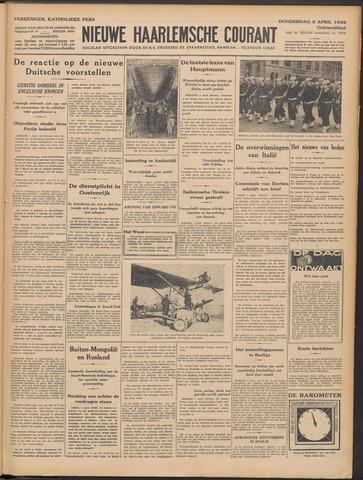 Nieuwe Haarlemsche Courant 1936-04-02
