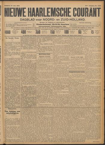 Nieuwe Haarlemsche Courant 1909-07-20